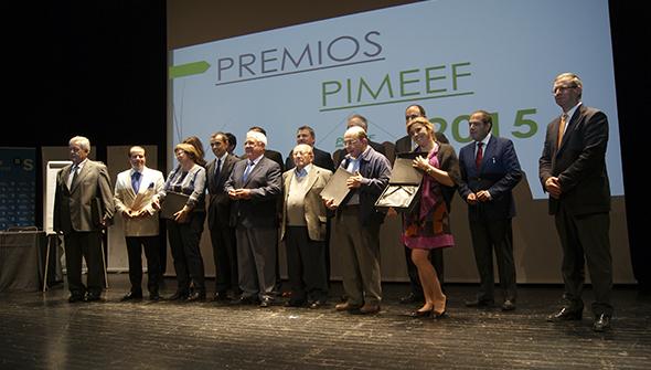 PIMEEF premia a Gráficas Pitiusas, Isabel Echávarri, Can Rich, Aniano Costa, Ca Na Negreta, Blue Bar y Francisco Ramón