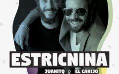 Estricnina - Las Dalias - Cartel
