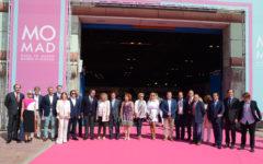 La vicepresidenta segunda del Consell d'Eivissa, Marta Díaz, participa en la apertura de MOMAD Metrópolis 2018