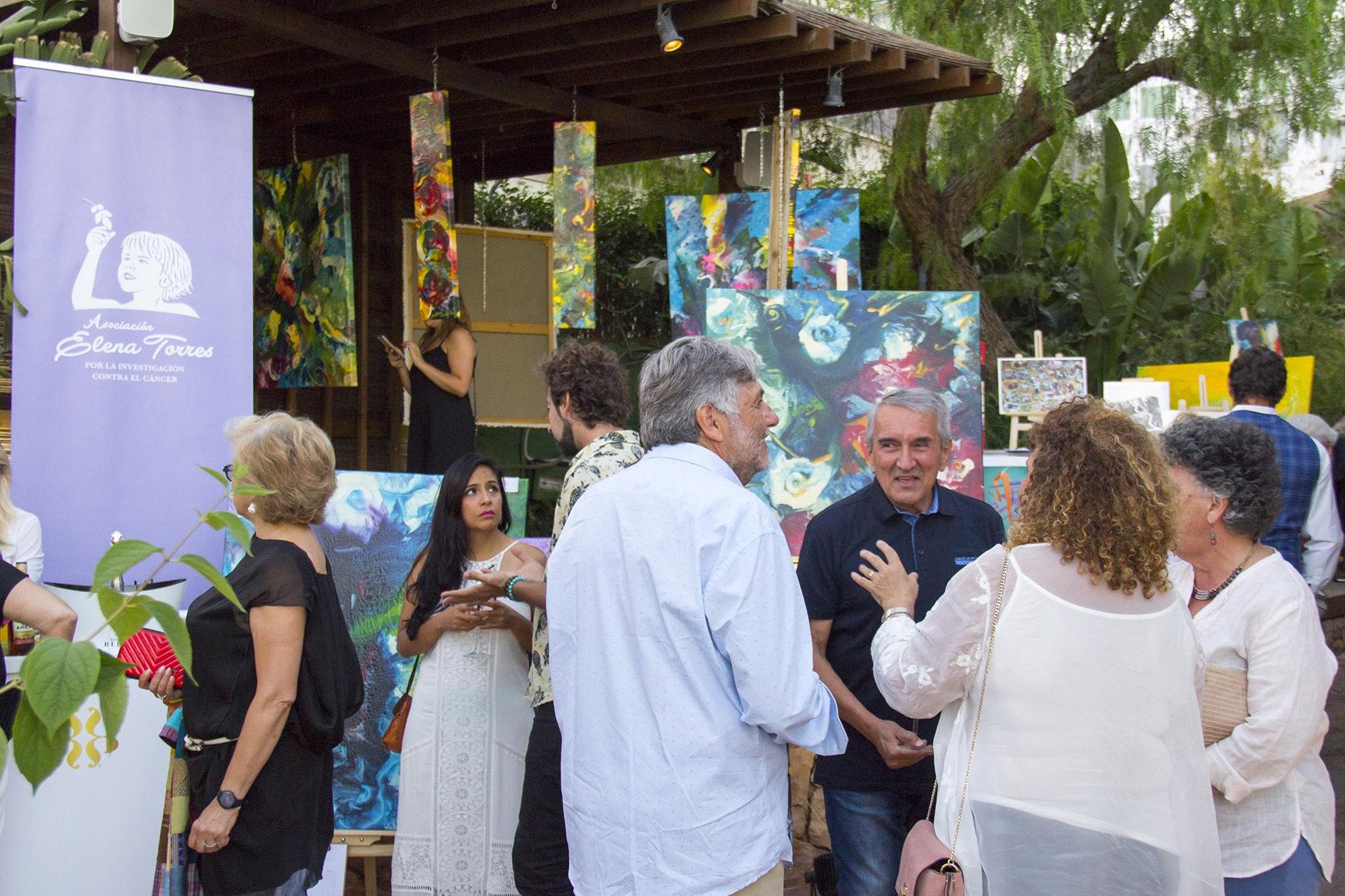 La Asociación Elena Torres recauda 2.686 euros en su subasta silenciosa en Villa Mercedes