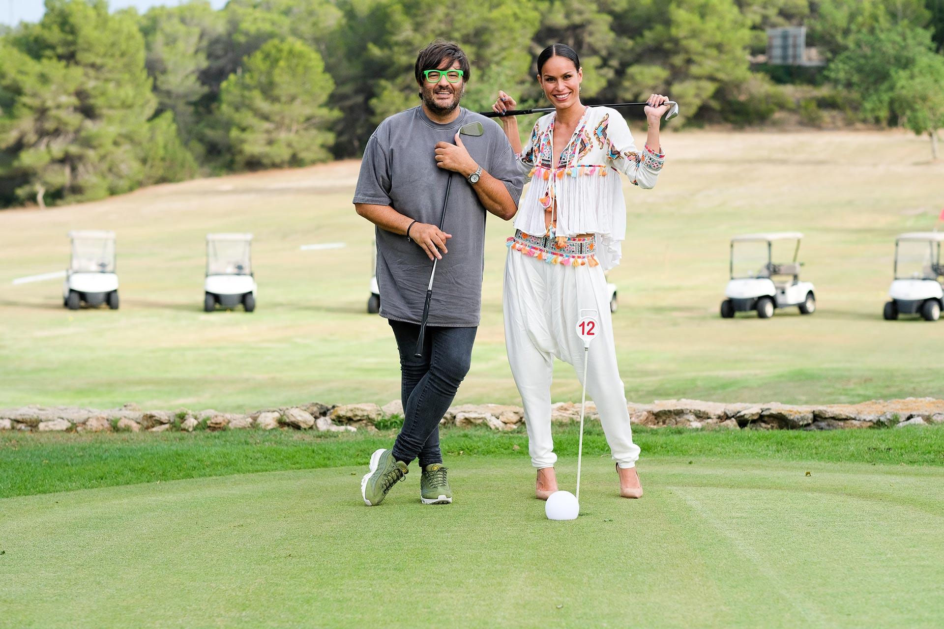 Mireia Canalda y Wally López en Golf Ibiza - Ibiza Luxury Destination