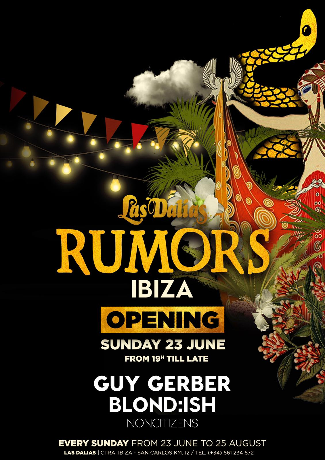 flyer 23 Junio - Rumors